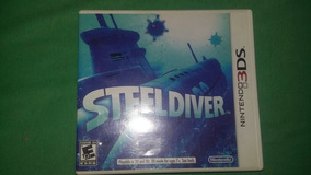 Steeldiver Nintendo 3ds Conpleto (usa)