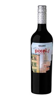 Vino Malbec Pixels Primo Mason Vinos Finos Tintos Belgrano