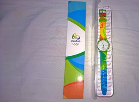 Relógio Swatch Voluntários Olimpíadas Rio 2016