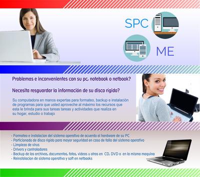 Servicio Tecnico Pc - Formateo - Instalacion A Domicilio
