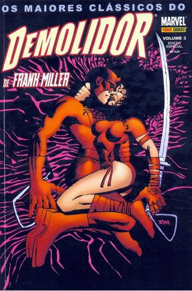 Os Maiores Clássicos Do Demolidor Marvel Panini Comics 3 Vol
