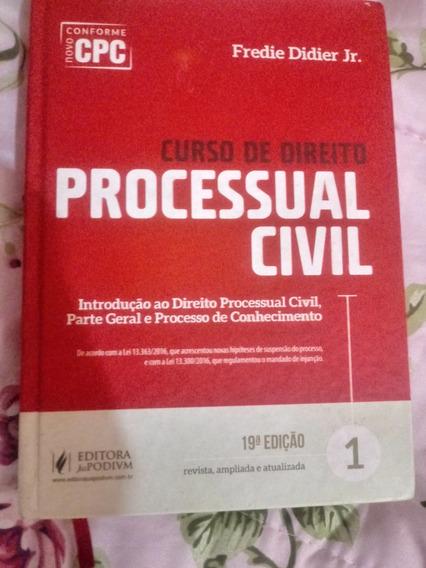 Livro De Processo Civil- Novo Cpc 2017 Fredie Didier