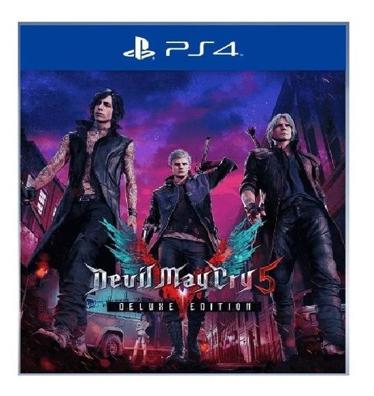 Devil May Cry 5 Delux Edition Ps4 Leia A Descriçao D Produto