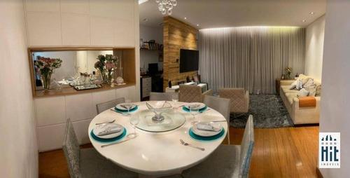 Apartamento Com 3 Dormitórios À Venda, 87 M² Por R$ 1.350.000,00 - Vila Clementino - São Paulo/sp - Ap3835