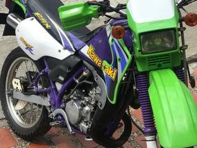 Kmx Kawasaki 125r Verde Y Morado, Lista Para Traspaso