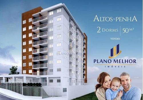 Imagem 1 de 14 de Apartamento Novo Residencial À Venda, Penha / Vila Esperança (requinte / Extra / Bancos / Metro), Sp - Ap0381. - Ap0381