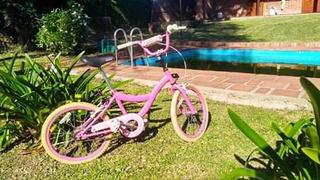 Bicicleta Barbie Rodado 20 Original