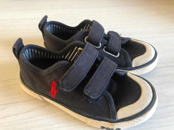 Zapatillas Polo Ralph Lauren Niños Talle 24.5 Originales!