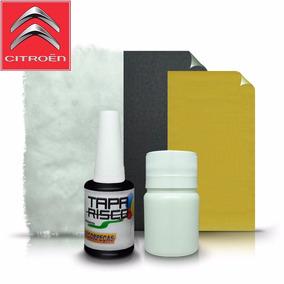 Tinta Tapa Tira Risco +kit Polimento Citroen Preto Absidiana