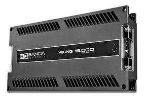 Módulo Amplificador Banda Viking 15.000 Wrms 1 Canal 1 Ohm
