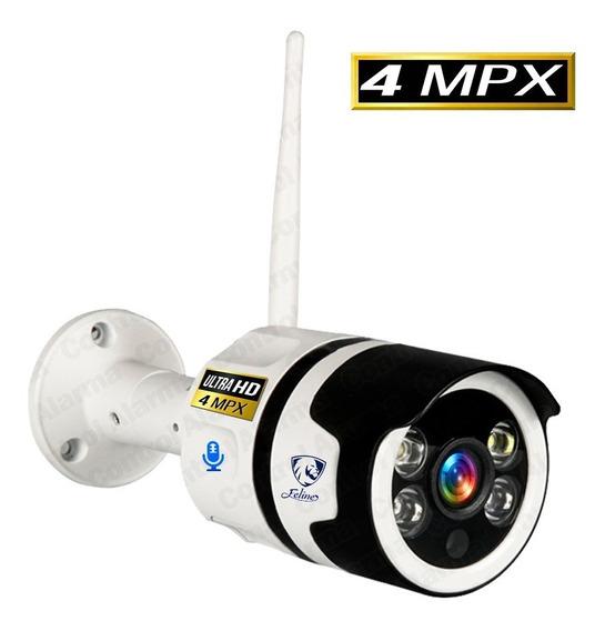 Camara Wifi Ip Ultra Fhd Exterior Nube Seguridad Vigilancia