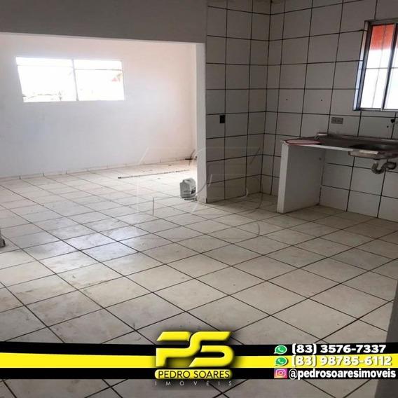 Kitnet Com 3 Dormitórios Para Alugar, 70 M² Por R$ 400,00/mês - Costa E Silva - João Pessoa/pb - Kn0008