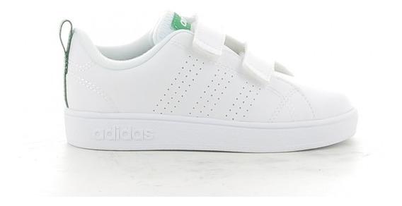 Tenis adidas Infantil Blanco/verde