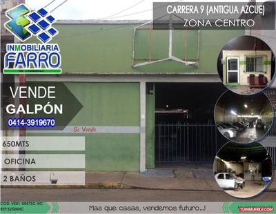 Venta De Galpón Sector Centro Ve01-0047sc-hc