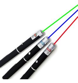 Super Caneta Laser Pointer Laser Mira 5mw Vermelha Laser