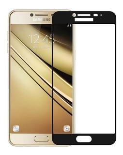 Vidrio Templado 3d Samsung J7 Pro 2017 Gold And Black