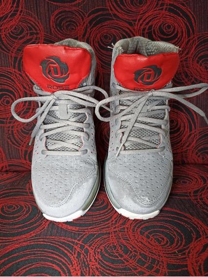 adidas Rose 3 J Aluminio 38 Muy Buen Estado