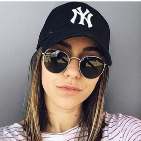 800e18ef35 Oculos Rayban Feminino Dourado Degrade - Óculos De Sol Ray-Ban Round ...