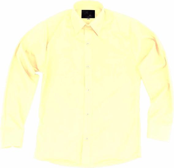Camisa De Vestir Para Adulto Beige O Hueso 34 A 42