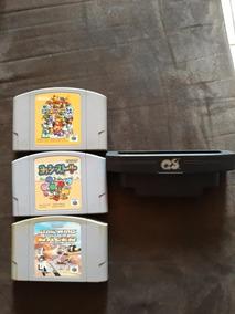 Lote De Jogos Japoneses Para Nintendo 64