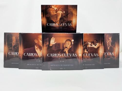 Carlos Cuevas Antología En Cuarentena Autografiada
