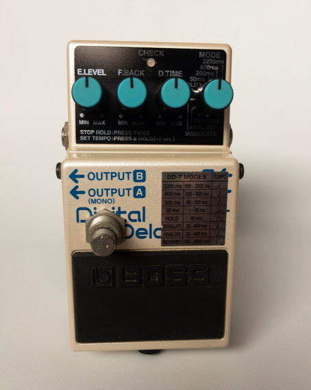 Pedal Boss Dd 7 Digital Delay Tap Tempo Guitartech