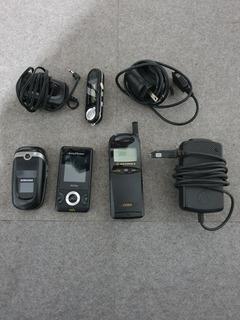 Lote De Celulares Antigos Motorola Samsung Sony + Carregador