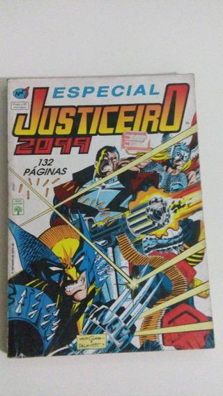 Especial Justiceiro 2099 Nº 1 - Ed. Abril - 1994 - Raridade.
