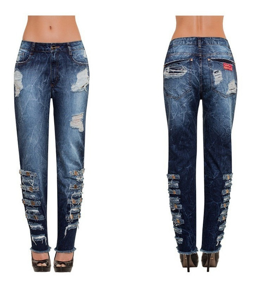 Calca Low Boyfriend Jeans Basico Lança Perfume 501cf000134