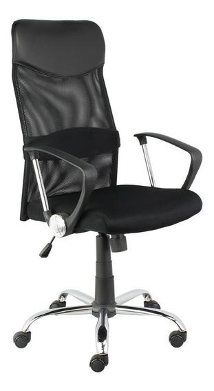 Cadeira Escritorio Bilbao Presidente Giratoria Rodizio Pu Fl