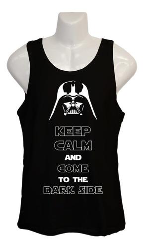 Polera Star Wars - Musculosa - Dark Vader - Keep Calm
