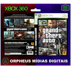 Gta Iv Xbox 360 Original - Mídia Digital