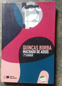 Livro: Quincas Borba+suplemen De Atividades-machado De Assis
