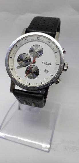 Relógio Cronometro Mercedes Benz S L K 37 Mm De Diâmetro
