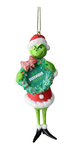 Imagen 1 de 3 de Adorno Para Árbol De Navidad Original Dr. Seuss The Grinch