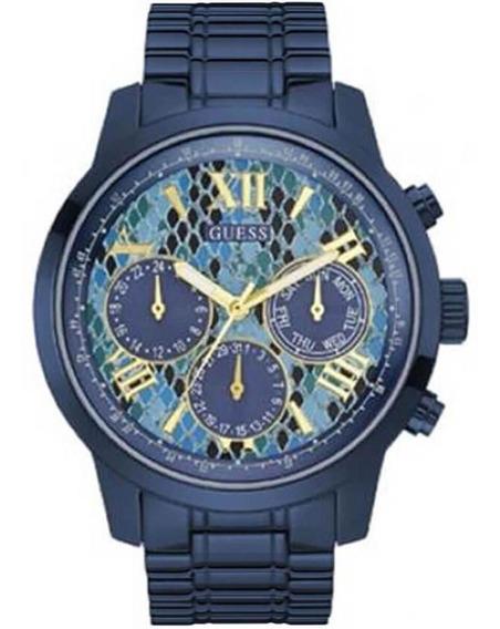 Relógio Feminino Guess Analógico 92521lpgsea8 Azul
