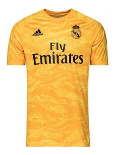 Camisa Real Madrid Goleiro Oficial 19/20 Fotos Reais