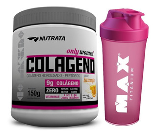Colágeno Hidrolisado - 150g - Nutrata + Shaker