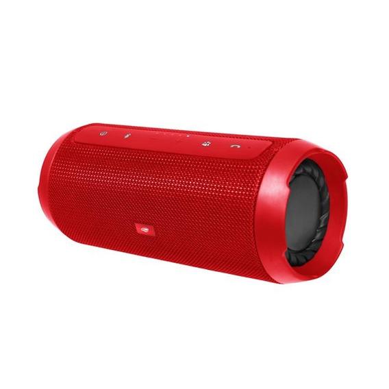Caixa Som Bluetooth C3 Tech Speaker Mini Portátil Vermelha