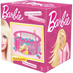 Piscina De Bolinhas Barbie Com 100 Bolinhas Líder
