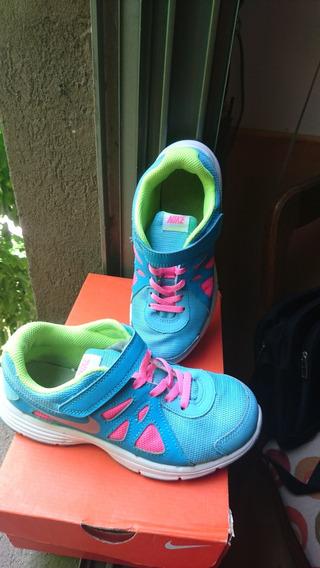 Zapatillas Nike Talle 2.5 Y / 21,5 Cm.-niña