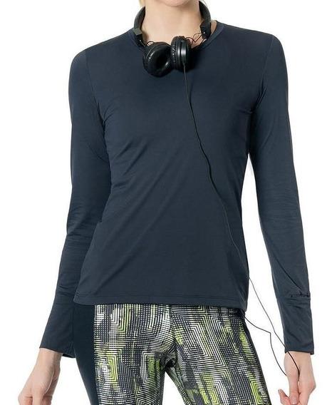 Camiseta Feminina Live M/l Key Running P7109-pt01