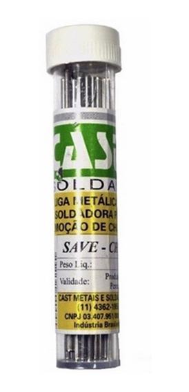 Salva Chip Cast Metais - Dessoldador Remoção De Chip 50gr