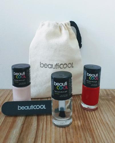 Beautibag 4 - Dos Esmaltes + Top Coat + Lima De Uñas