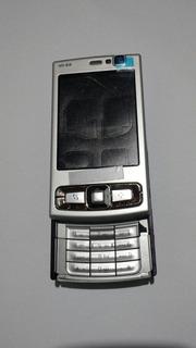 Caracaça Nokia N95 8g Cinza Completa