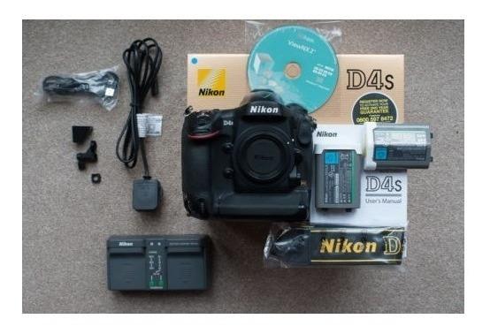 Câmera Digital Nikon D4s 16.2mp + Kit ( Bolsa Tripé 64gb )