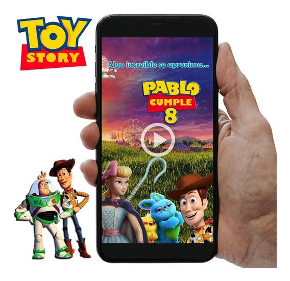 Toy Story 4 - Invitación Digital En Video