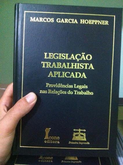 Livro - Legislação Trabalhista Aplicada