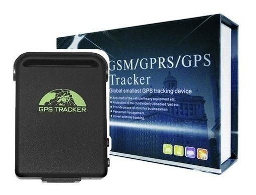 Gps Gprs/gsm Tracker Mini Para Auto 2/u Un Solo Precio Ofert