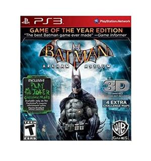 Batman Arkham Asylum - Edición Del Juego Del Año (playstati